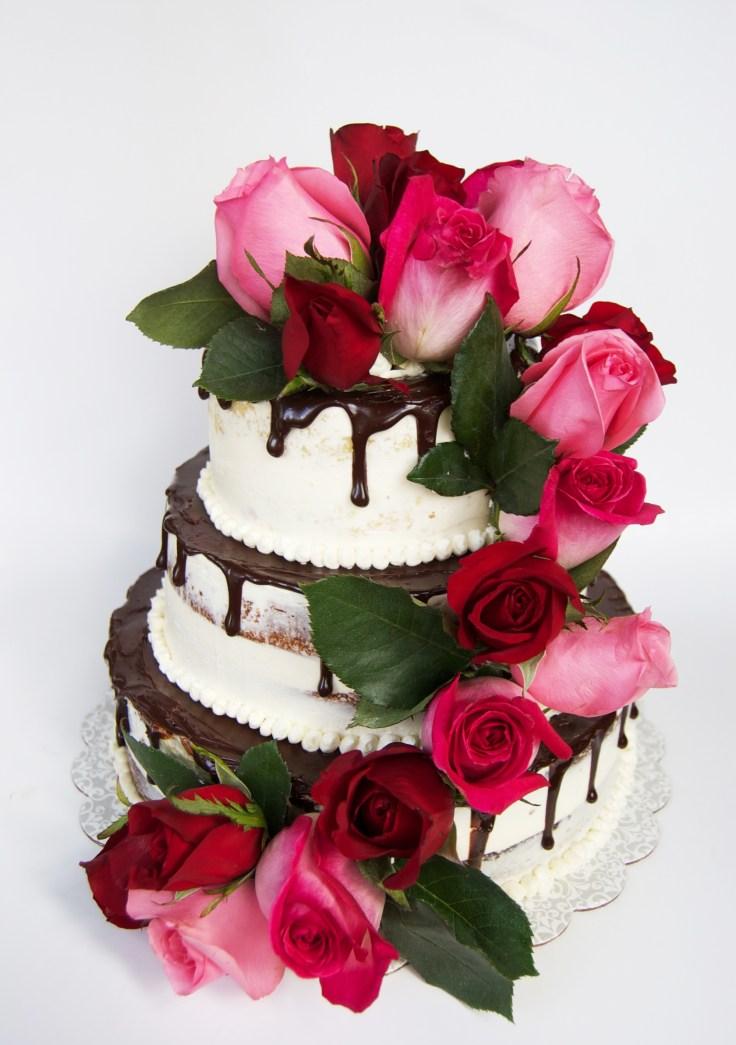 rosetieredcake
