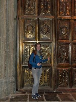 die Tür der Großen Halle