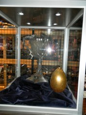 Triwizard Cup und Golden Egg