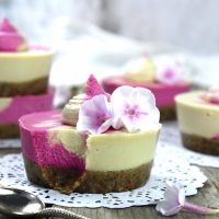 PITAYA MINI CHEESECAKES
