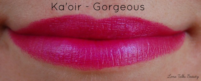 Ka oir Gorgeous lipstick