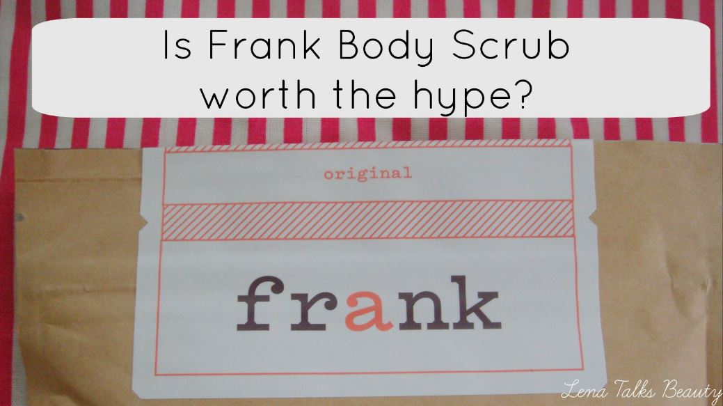Is Frank Body Scrub worth the hype?