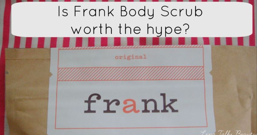 frank body scrub review