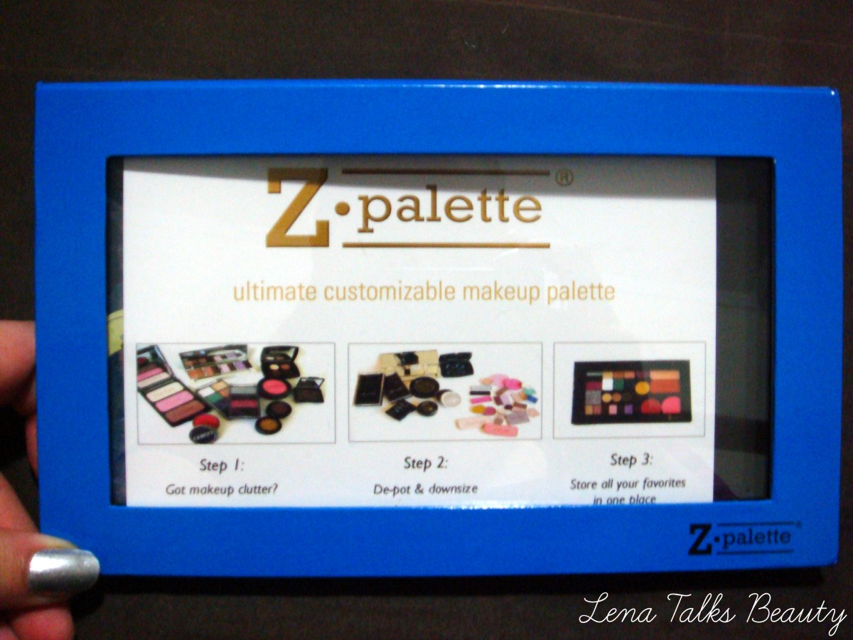 Depotting for a Z Palette