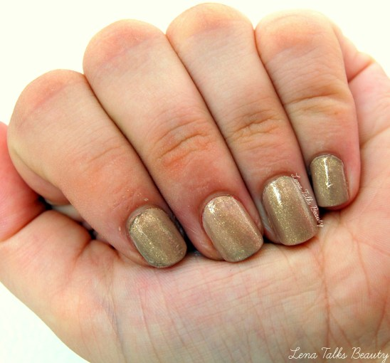 OPI Don't pretzel my buttons and china glaze fast track