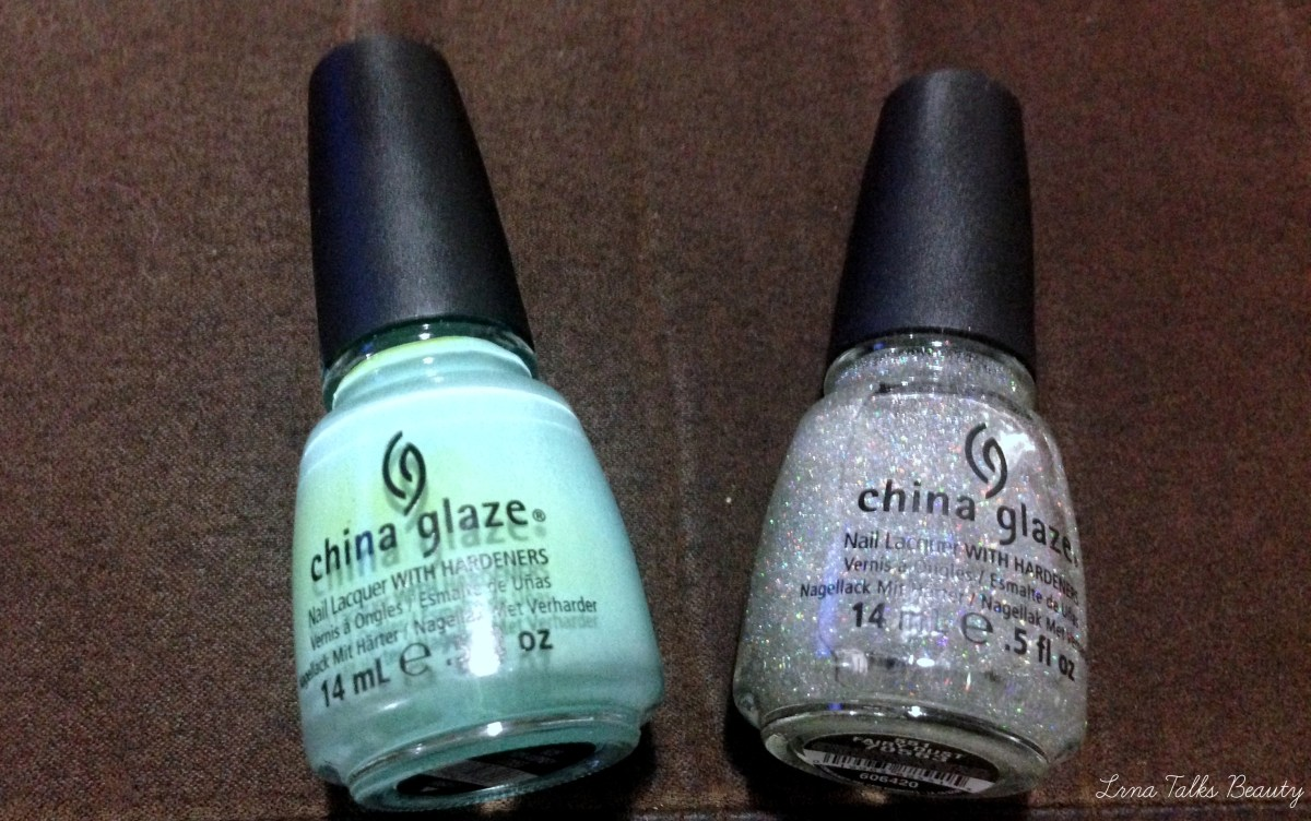 China Glaze Nail Polish - For Audrey and Fairy Dust