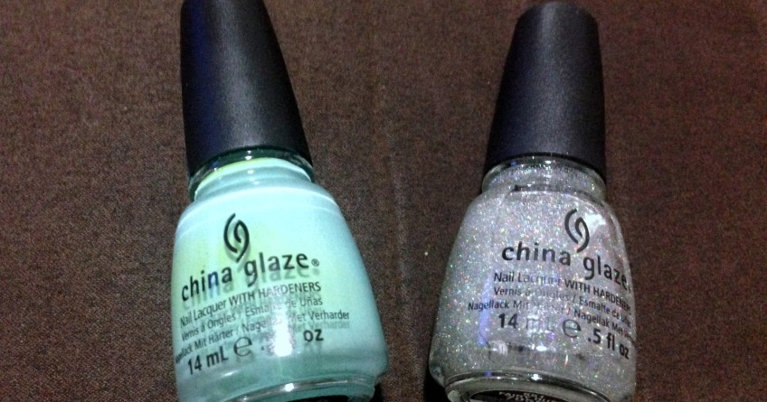 China Glaze for audrey and china glaze fairy dust.11