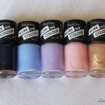 Collection Cosmetics pastel polishes