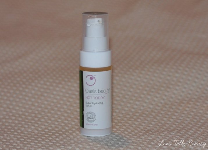 Oasis beauty hot toddy super hydrating serum
