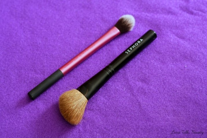 real techniques setting brush, sephora blusher brush
