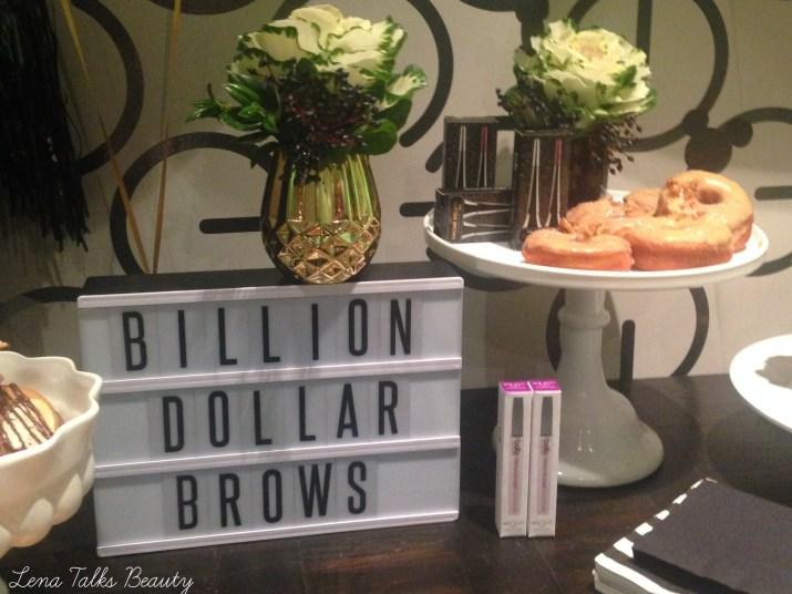 Billion Dollar Brows event