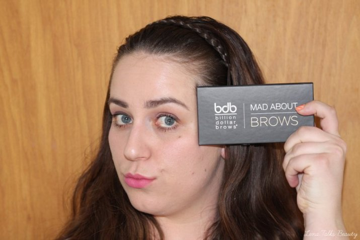 Using Billion Dollar Brows Mad About Brows palette