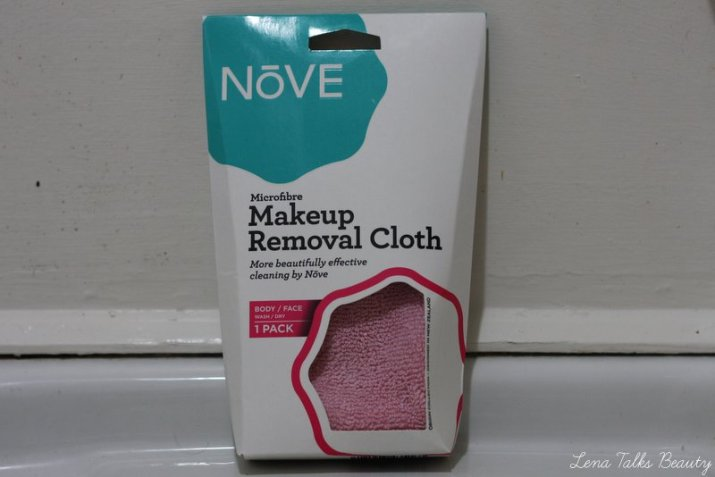 Nove Microfibre makeup removal cloth - Lena Talks Beauty