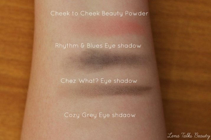 MAC enchanted eve eyeshadow swatches - Lena Talks Beauty