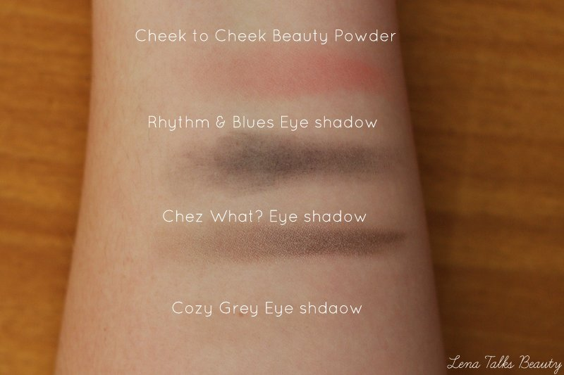 MAC enchanted eve eyeshadow swatches - Lena Talks Beauty
