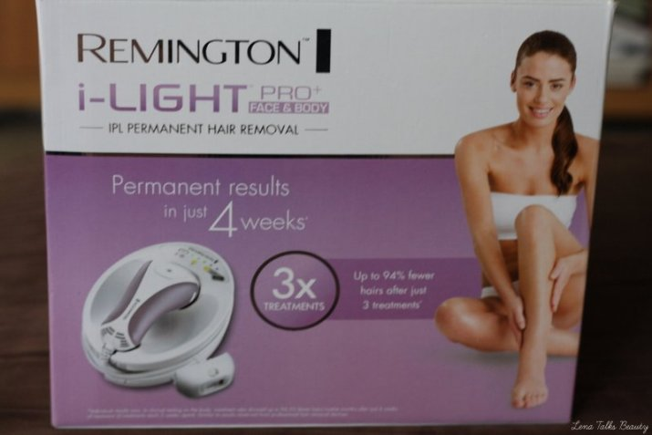 Remington ilight pro face and body - lena talks beauty