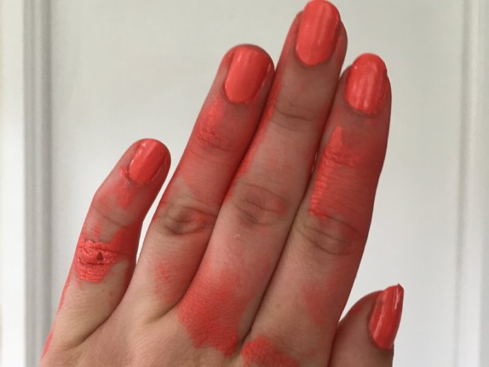 Bourjois 03 orange outrant nail lacquer - lena talks beauty.16