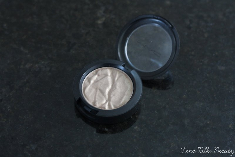 MAC fairy land foiled eyeshadow faerie whispers collection - lena talks beauty