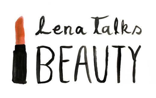 lena talks beauty logo by elese dowden