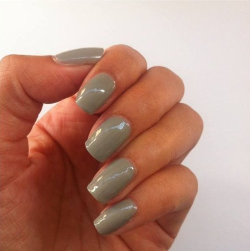 Ombre nails with striped feature nail the beauty context - lena talks beauty