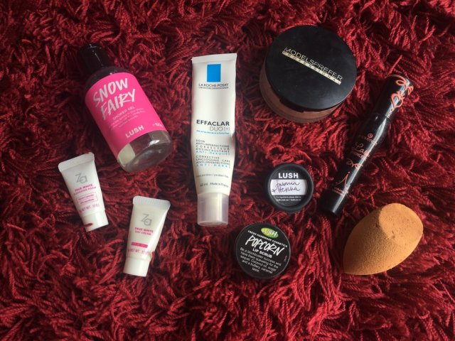 Lush Snow Fairy, La Roche Posay Effaclar Duo+, Za True White Day Cream and more - March and April empties | Lena Talks Beauty