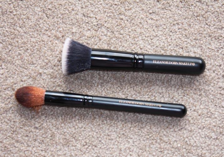 Eleanor Dorn 19 pointed face brush, 21 kabuki brush review - Lena Talks Beauty