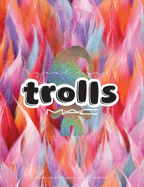 MAC Good Luck Trolls Limited Edition Collection Review - Lena Talks Beauty