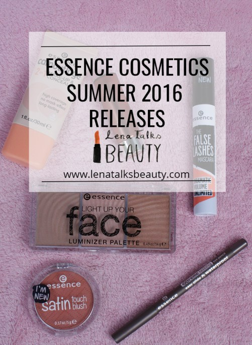 Essence Cosmetics Summer 2016 releases, reviewed by Lena Talks Beauty