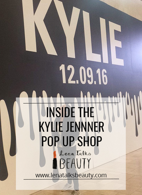 Inside the Kylie Jenner pop up shop - Lena Talks Beauty