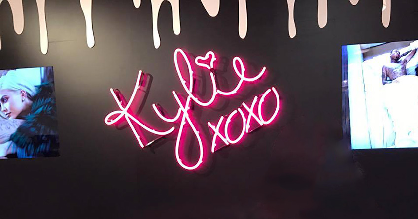 Inside the Kylie Jenner Pop Up Shop