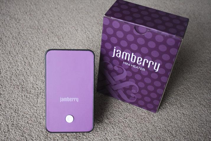 Jamberry mini heater - Lena Talks Beauty