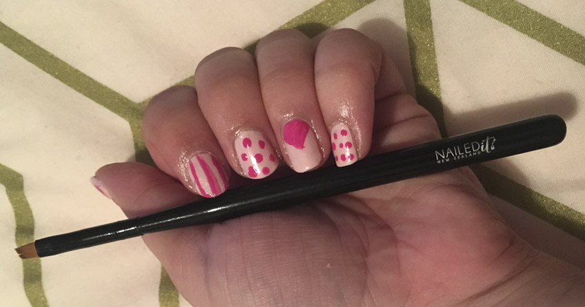 Nailed it NZ Nail art brushes review by Lena Talk Beauty