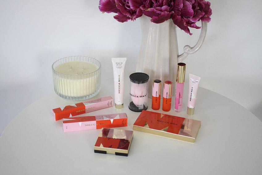 Mecca Max - new range of cosmetics from Mecca Maxima reviewed by Lena Talks Beauty