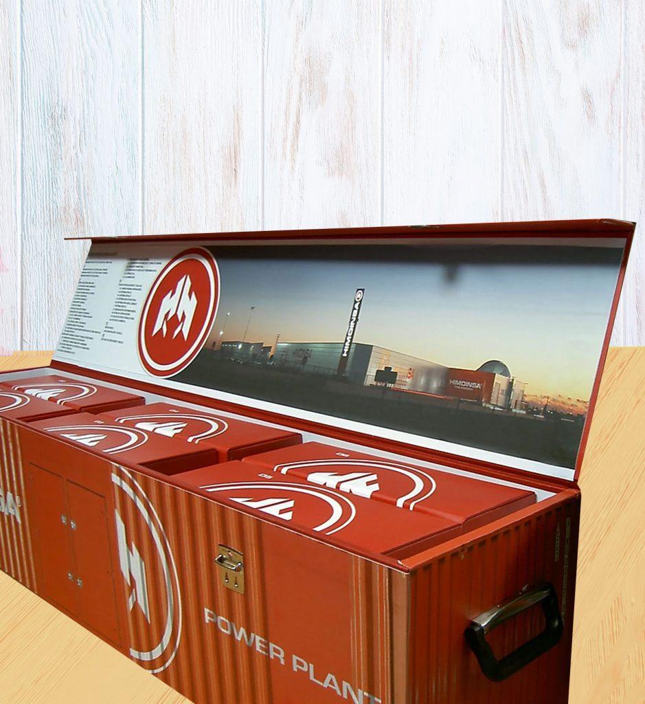 Proyecto Memoria cajas y carpetas tornillos
