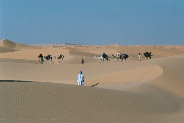 Trekking en Mauritanie dans le désert de l'Adrar, voyage en Afrique