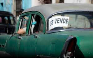 Xe rao bán ở Havana, tháng 2/2012 (Desmond Boy Lan / Courtesy Reuters)