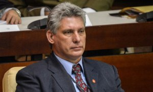 Phó chủ tịch Cuba Miguel Díaz-Canel (Adalberto Roque/AFP/Getty Images)
