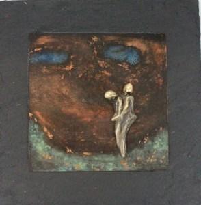 bronzebillede_kunst_bronzeskulptur_lene_purkaer_stefansen_varemaerkebeskyttet_trist