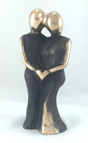 bronzeskulptur_lene_purkaer_stefansen_bronzefigur_kunst_skulpturer_bryllupsgave__morgengave_du_og_jeg_en_dans_for_livet