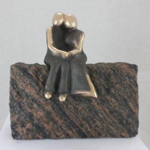 kærlighed_udsigt_til_havet_lytte_mærke_se_lene_purkaer_stefansen_bronzeskulptur