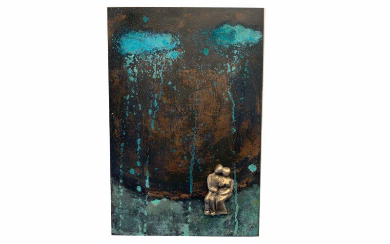 Sammen med dig lytte til regnens beroligende sang