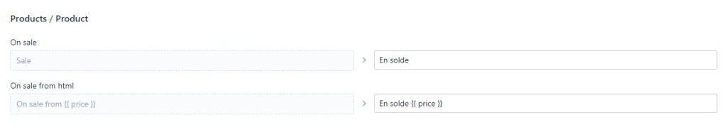 traductions pour Retirer solde sur shopify