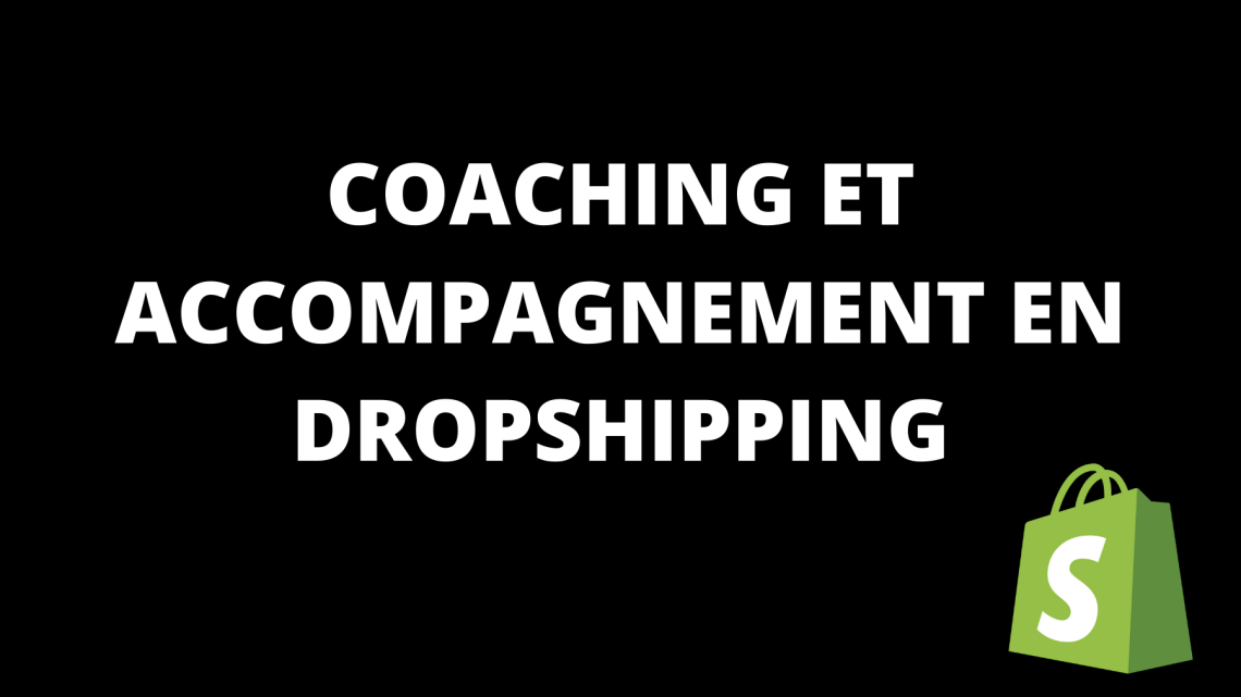 Coaching Dropshipping et accompagnement.