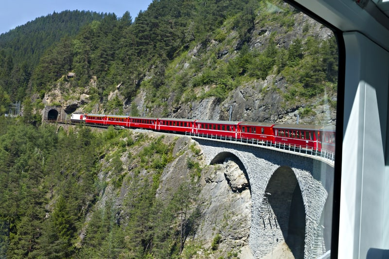 http://www.dreamstime.com/stock-image-glacier-express-driving-image16459331