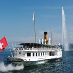 Delightful boat cruises on Swiss lakes