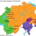 Are Swiss language divisions increasing?