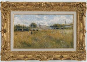 Renoir - Paysage au bord de la Seine a Rueil (1879)