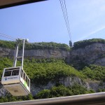 Salève cable car Geneva