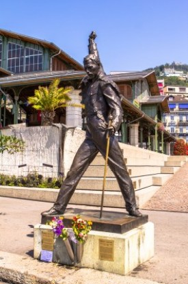 Lake geneva tour - Freddy Mercury Montreux