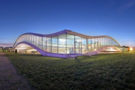 Lake-geneva-tour-Rolex-Learning-Centre-EPFL